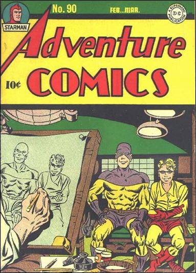 Adventure Comics (1938) 90-A by DC