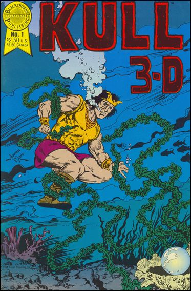 Kull in 3-D 1-A by Blackthorne
