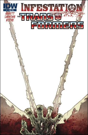 Transformers: Infestation 1-C by IDW