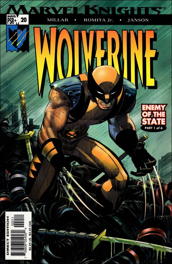 Wolverine (2003)  20-A by Marvel
