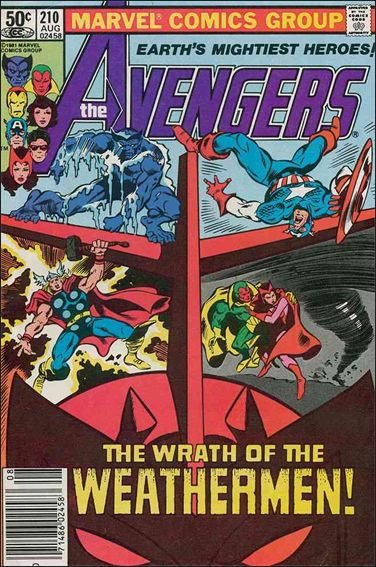 Avengers (1963) 210-A by Marvel