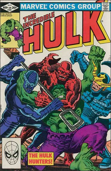 Incredible Hulk (1968) 269-A by Marvel