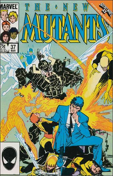 New Mutants (1983) 37-A by Marvel