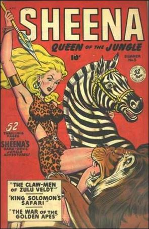 Sheena, Queen of the Jungle 5-A