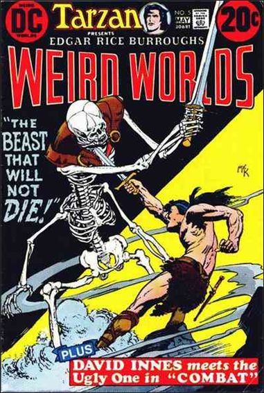 Weird Worlds (1972) 5-A by DC