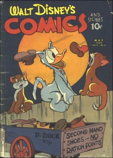 Walt Disney's Comics and Stories (1940) 44-A by Dell