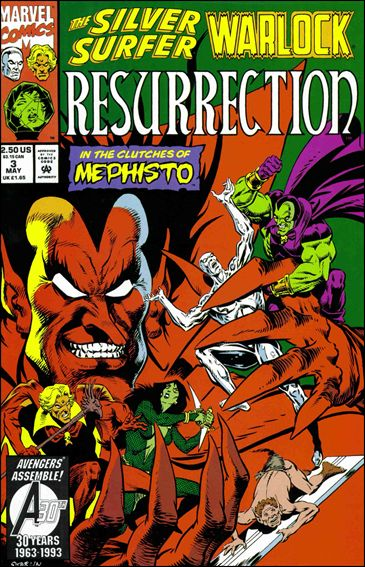 Silver Surfer/Warlock: Resurrection 3-A by Marvel
