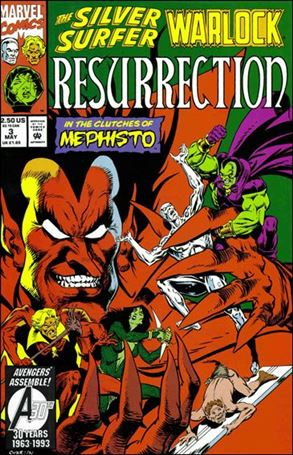 Silver Surfer/Warlock: Resurrection 3-A