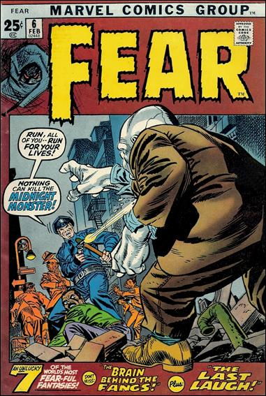 Fear 6-A by Marvel