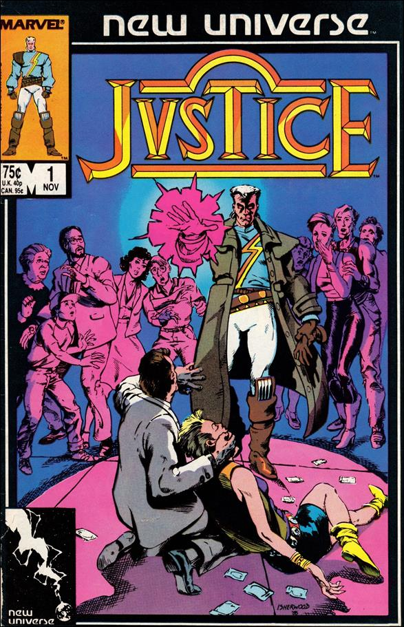 Justice (1986) 1-A by Marvel