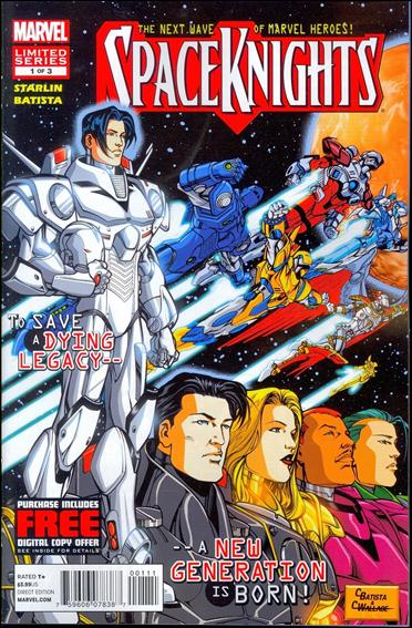 Spaceknights (2012) 1-A by Marvel