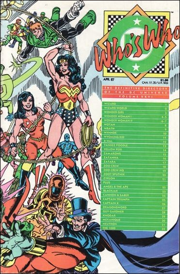 Who's Who: The Definitive Directory of the DC Universe 26-A by DC