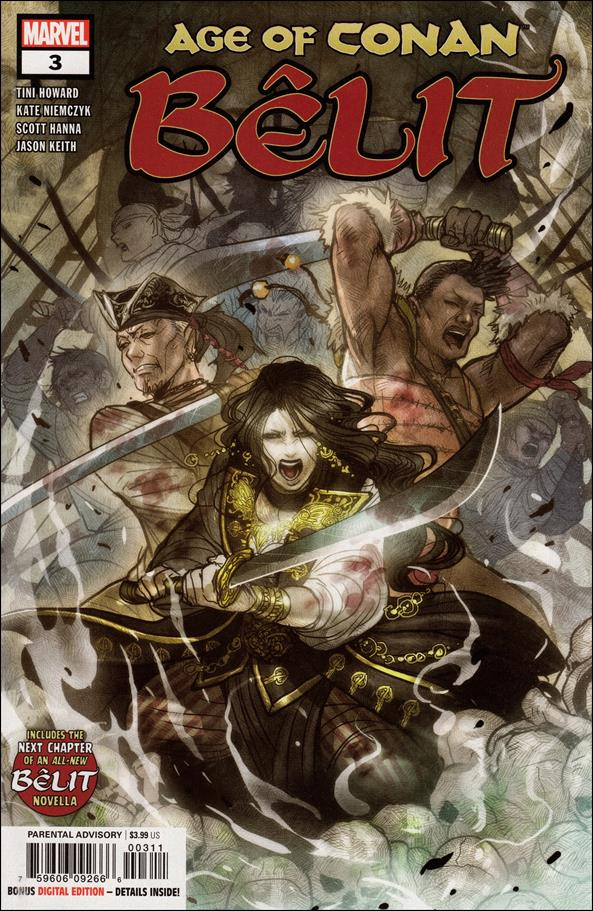 Age of Conan: Belit 3-A by Marvel