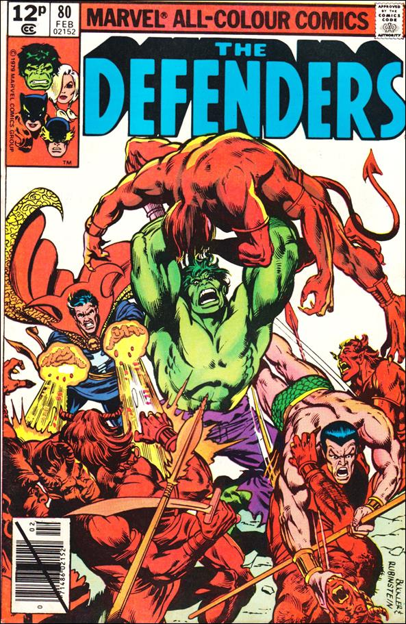 Defenders (1972) 80-B by Marvel