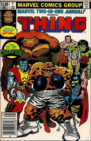 Marvel Two-in-One Annual 7-A
