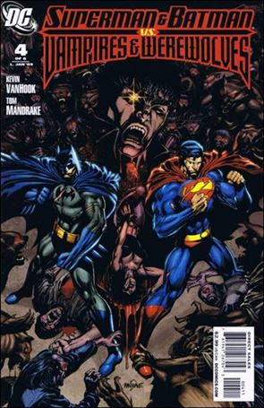 Superman and Batman vs Vampires and Werewolves 4-A