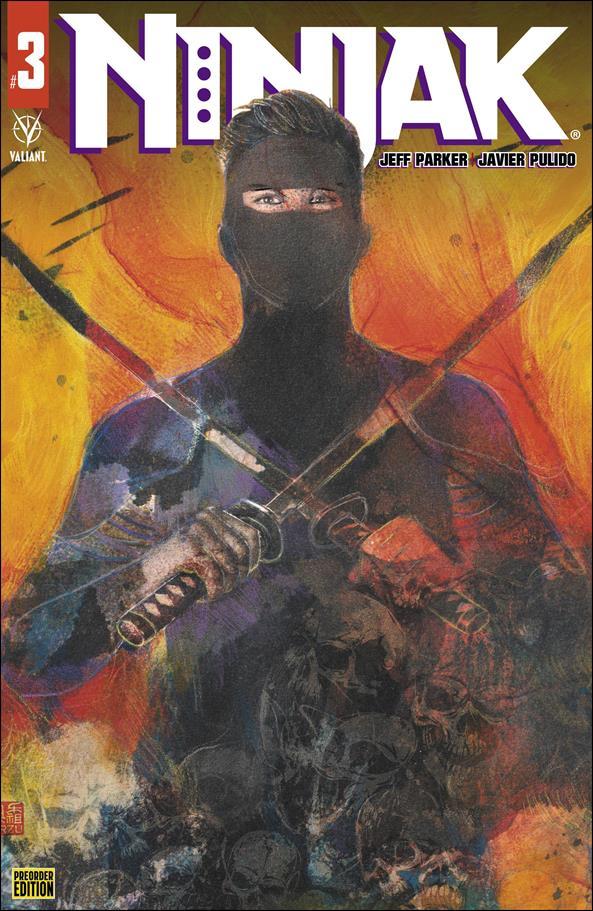 Ninjak (2021) 3-C by Valiant Entertainment