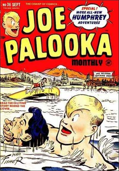Joe Palooka (1945) 36-A by Harvey