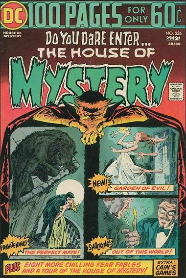 House of Mystery (1951) 226-A by DC