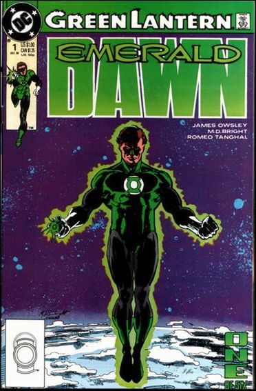 Green Lantern: Emerald Dawn 1-A by DC