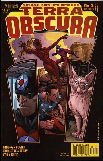 Terra Obscura (2003) 3-A by America's Best Comics