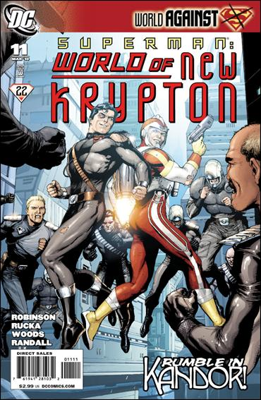 Superman: World of New Krypton 11-A by DC