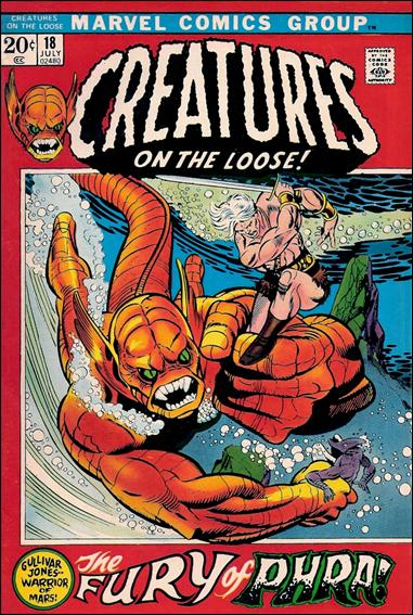 Creatures on the Loose 18-A by Marvel