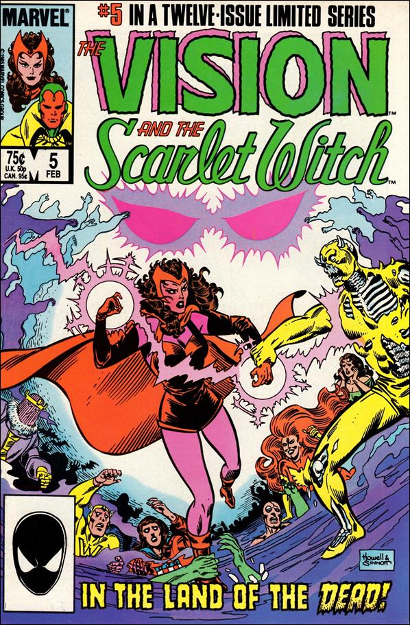 Vision and the Scarlet Witch (1985) 5-A by Marvel