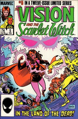 Vision and the Scarlet Witch (1985) 5-A