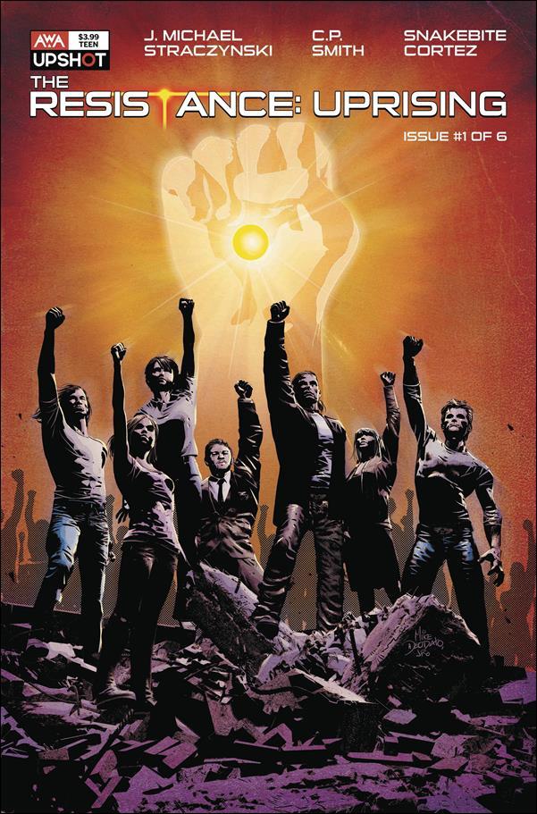 Resistance: Uprising 1-B by AWA Studios