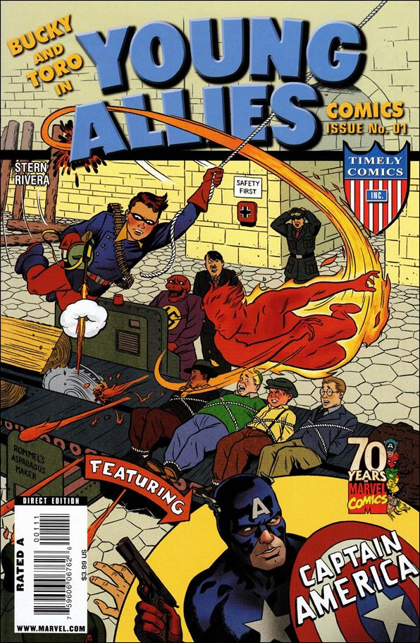 Young Allies Comics 70th Anniversary Special 1-A by Marvel