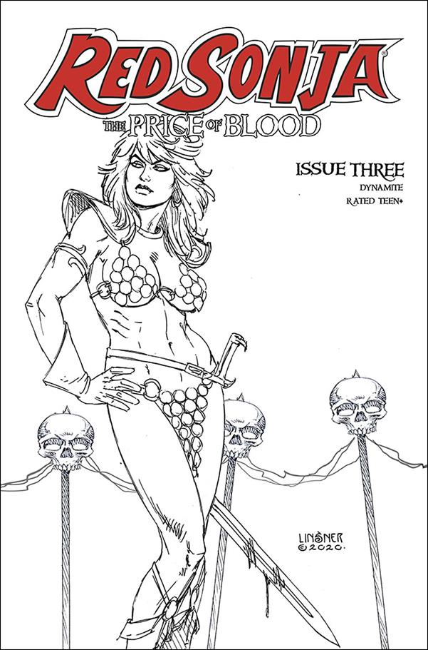Red Sonja: Price of Blood 3-L by Dynamite Entertainment