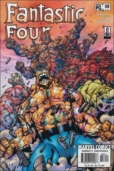 Fantastic Four (1998) 58-A by Marvel