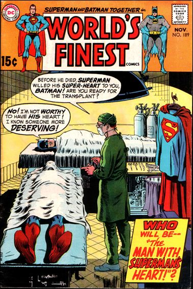 World's Finest Comics 189-A by DC