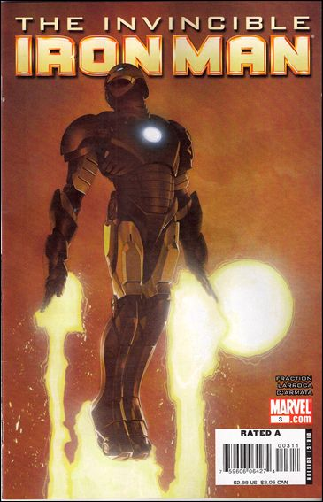Invincible Iron Man (2008) 3-B by Marvel