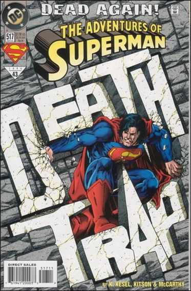 Adventures of Superman (1987) 517-A by DC