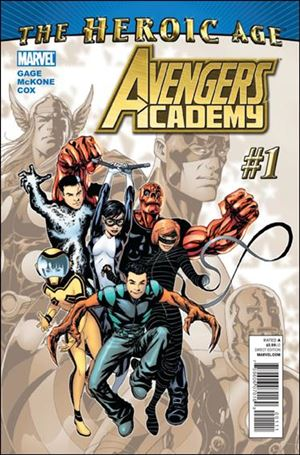 Avengers Academy 1-A