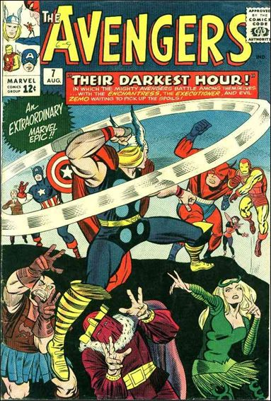 Avengers (1963) 7-A by Marvel