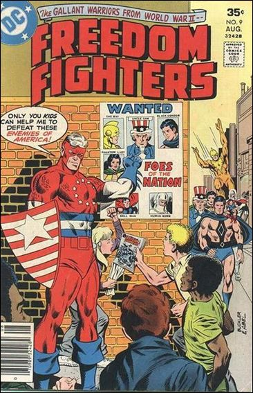 Freedom Fighters (1976) 9-A by DC