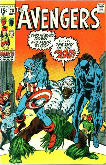 Avengers (1963) 78-A by Marvel