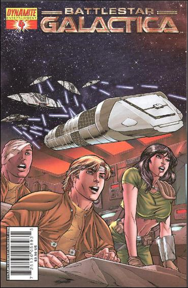 Classic Battlestar Galactica 4-B by Dynamite Entertainment
