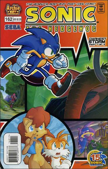 Sonic the Hedgehog (1993) 162-A by Archie