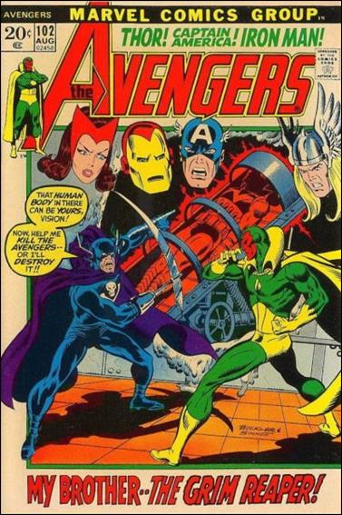 Avengers (1963) 102-A by Marvel
