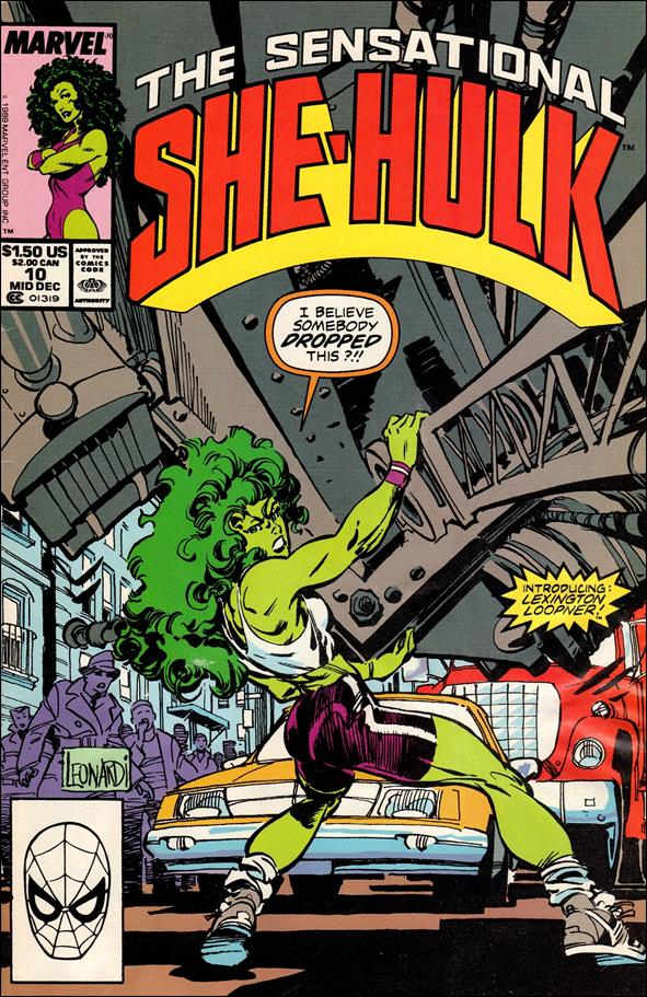 Sensational She-Hulk 10-A by Marvel