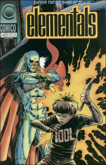 Elementals (1989) 24-A by Comico