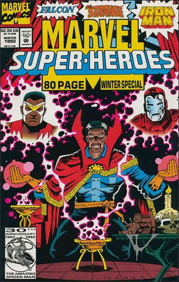 Marvel Super-Heroes (1990) Winter 1992-A by Marvel
