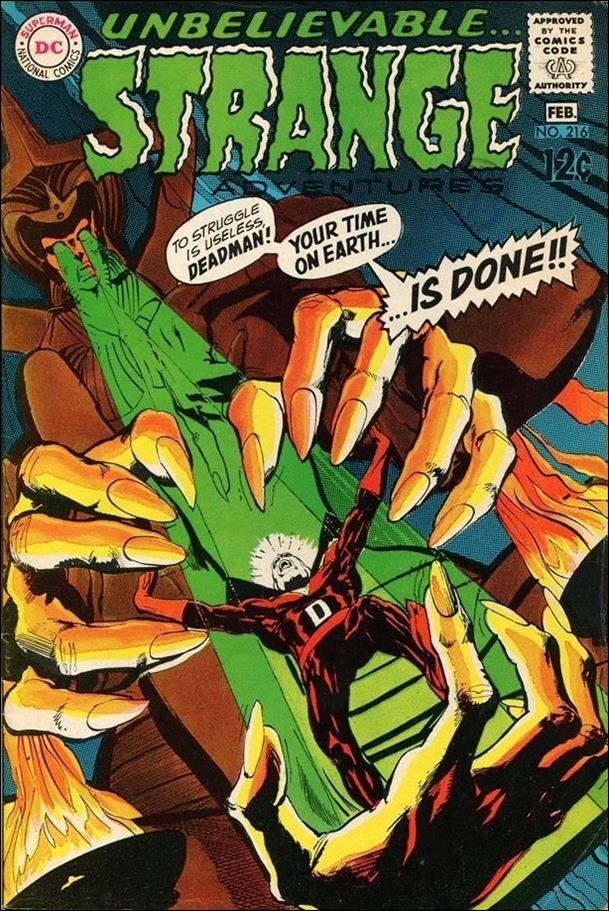 Strange Adventures (1950) 216-A by DC