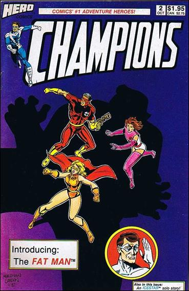 Champions (1987) 2-A by Hero Comics