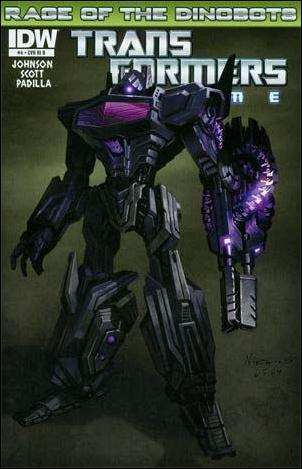 Transformers Prime: Rage of the Dinobots 4-C by IDW