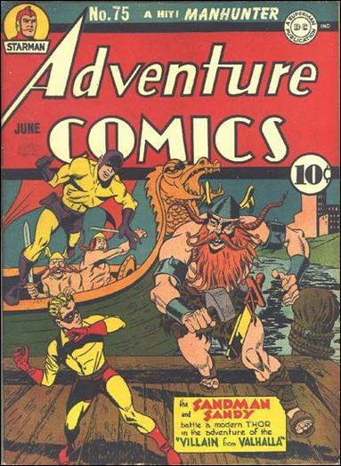 Adventure Comics (1938) 75-A by DC